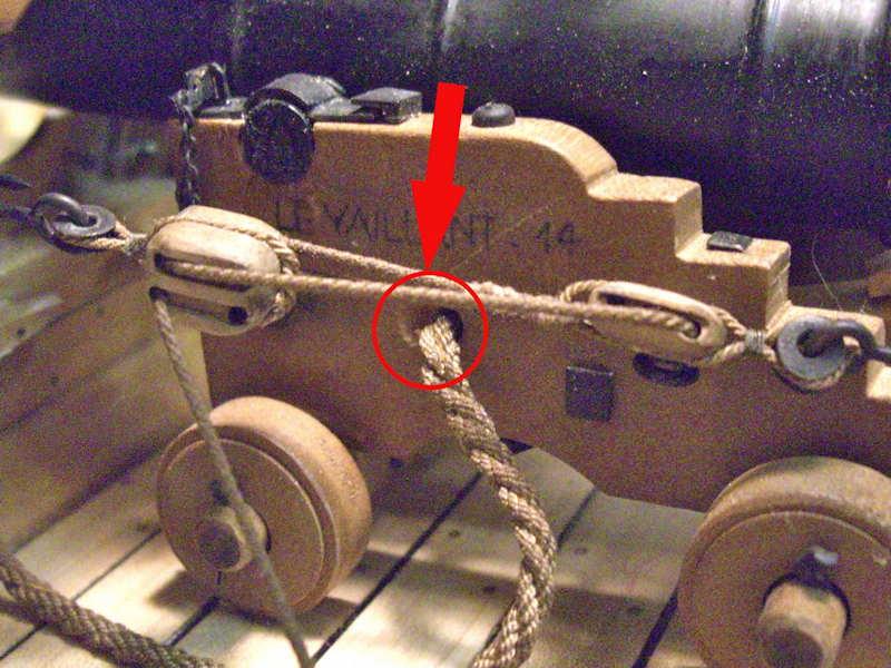 Poste de combat du canon de 36 du V74 canons, echelle 1:24 - Page 12 Cimg3227