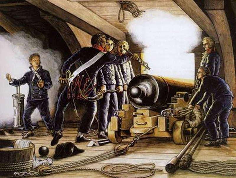 Poste de combat du canon de 36 du V74 canons, echelle 1:24 - Page 13 Couver10