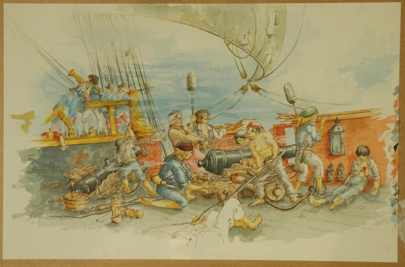 Poste de combat, illustrations d'époque demandées Illust10