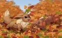 RenderShipping [Evoli/Eevee x Goupix/vulpix] ♥ Autumn11