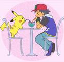 PikaShipping [Satoshi/Ash/Sacha x Pikachu] ♥ Cafe10
