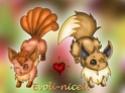 RenderShipping [Evoli/Eevee x Goupix/vulpix] ♥ In_lov10