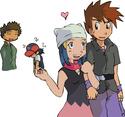 CavalierShipping (Hikari/Aurore/Gary x Shiegru/Régis/Dawn) ♥ Pokemo12