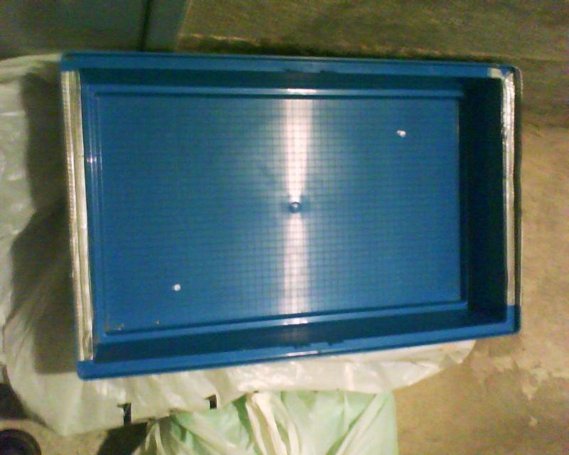 Donne bac de cage en plastique (75) Cage_b10