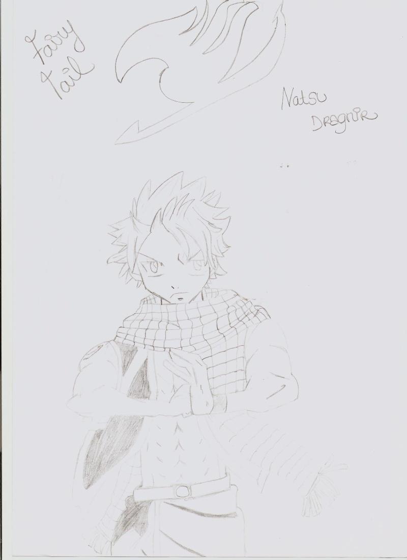 [Dessins] Mes quelques dessins (si on peut appelé ça comme ça xD) Natsu_10