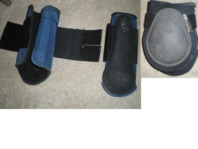 protections, bandes, cloches, taille cheval et poney 2211