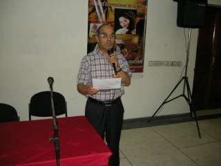 محمد البقيدي ينتزع الجائزة الذهبية ، المهرجان الدولي للشعر والزجل يطفئ شمعته السابعة في ظل غياب الدعم . Bou9ay10