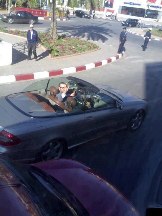 الملك محمد السادس يوجه آخر تنبيه إلى شرطة المرور بالبيضاء  Malek10