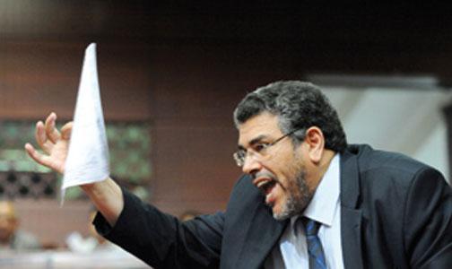 """الرميد يفجر فضيحة:أرفض أن ألعب دورالـ""""كومبارس"""" إلى جانب حفيظ بنهاشم Ououus18"""