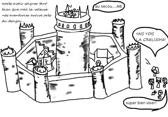 Cadavre Exquis: À la poursuite de la vile Mabilla  Donjon10