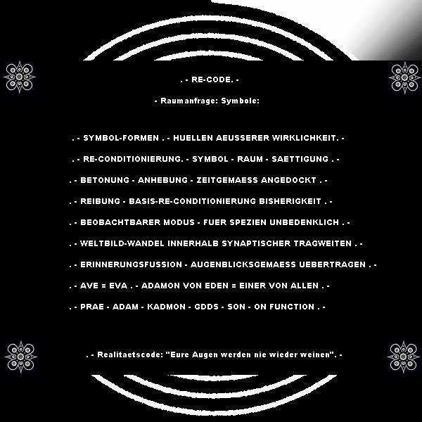 """""""Eröffnung des Königreiches"""": Re-cod10"""
