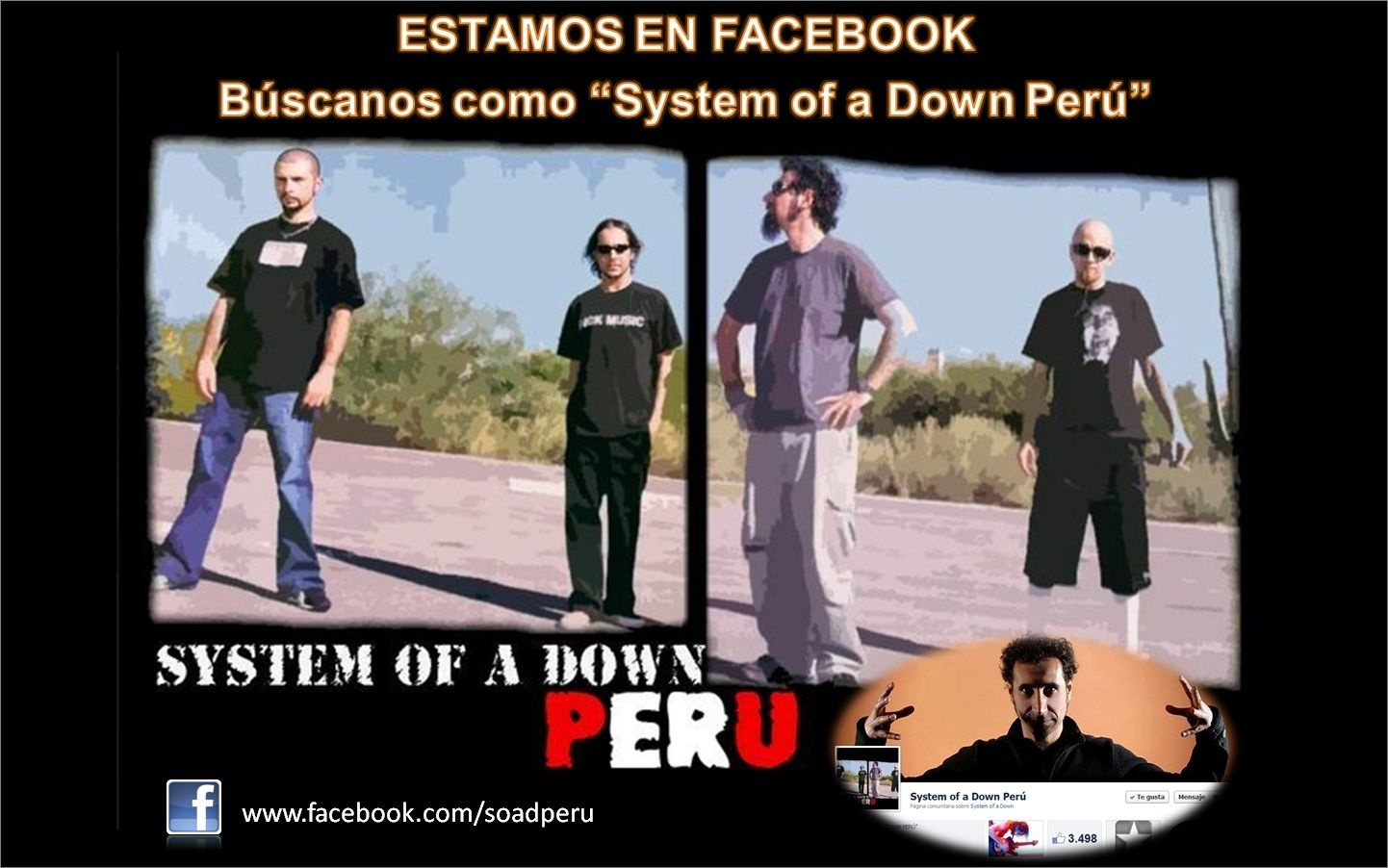 System Of A Down Perú