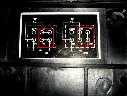 bonjour je voudrais avoir un schema pour brancher un moteur 220V mono avec duex sens de rotation Inv10