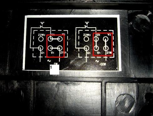 bonjour je voudrais avoir un schema pour brancher un moteur 220V mono avec duex sens de rotation Inv11
