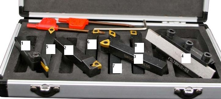 outillage pour tour à métaux Val10