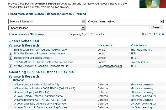 Μηχανή αναζήτησης μαθημάτων κατάρτισης στην εφημερίδα ''Τhe Independent'' Fsafds10