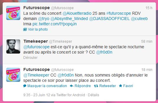 Concert des 25 ans du Futuroscope / Alouette - 23 juin 2012 - Page 9 Pasnot10