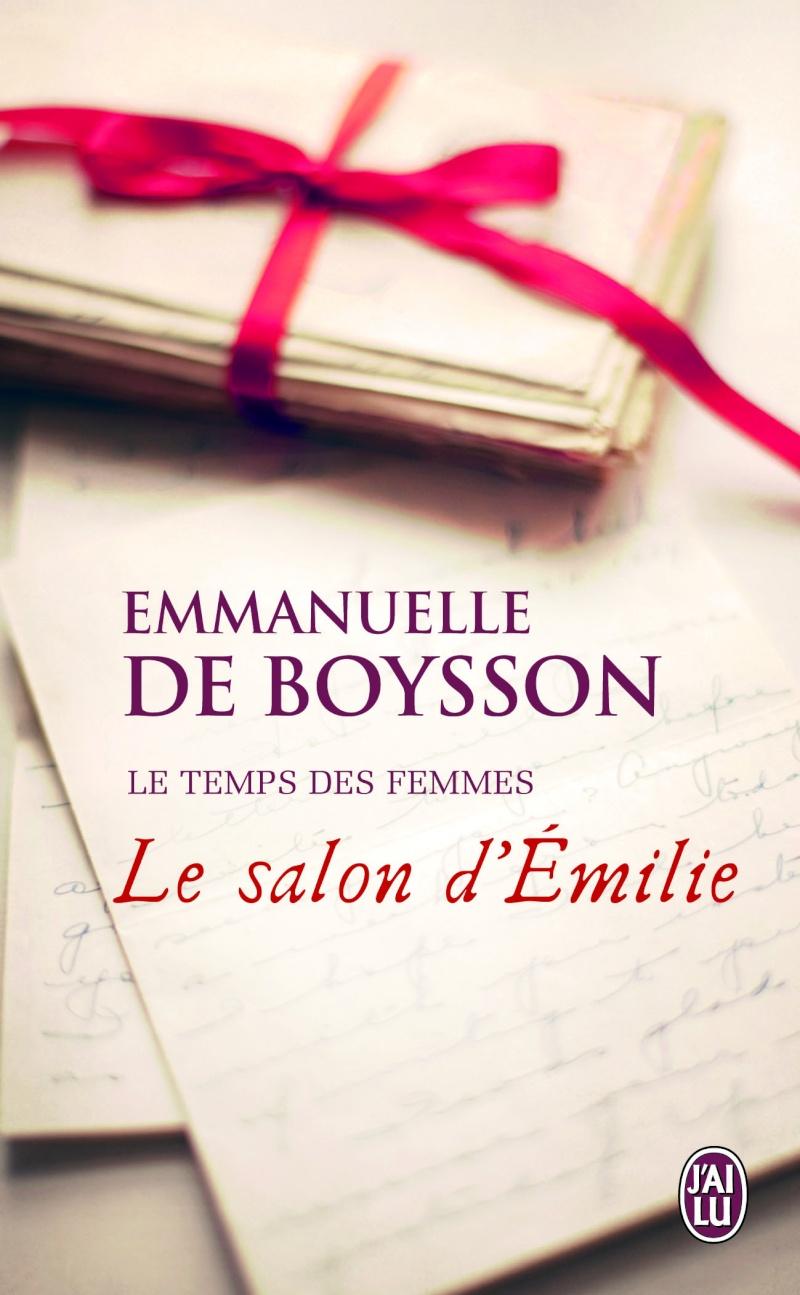 DE BOYSSON Emmanuelle - LE TEMPS DES FEMMES - Tome 1 : Le salon d'Emilie 97822940