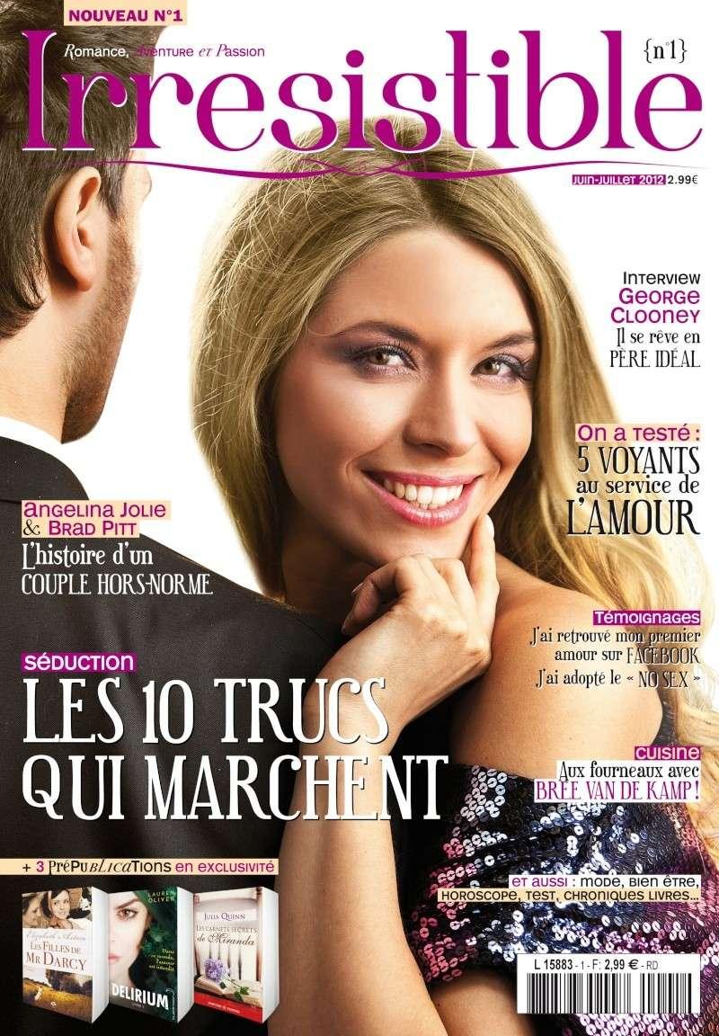 Irrésistible - Magazine consacré à la romance Couv_i10