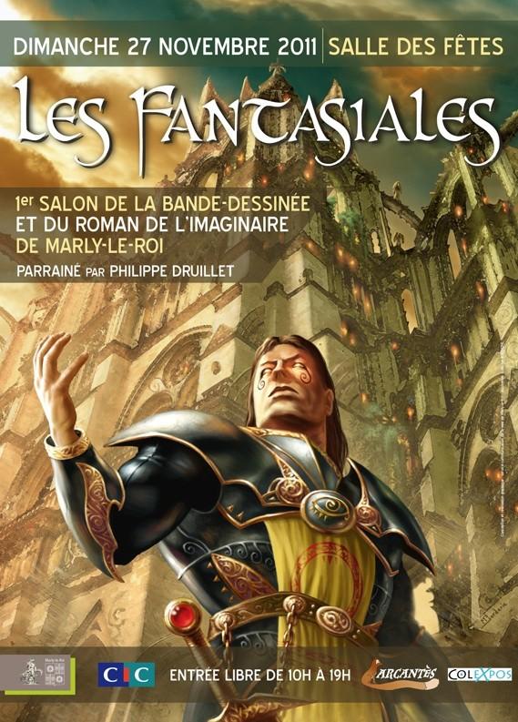 Les Fantasiales : salon de la BD et du roman de l'Imaginaire, Marly le Roy 27 Novembre Fantas10
