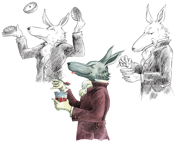 DUMON-JOSSET Sylvie : Desserts de grands-mères pour faire craquer le grand méchant loup Loup10