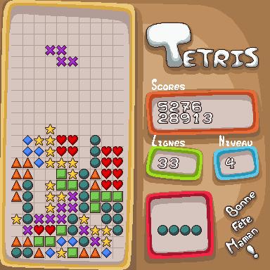 """Tetris ~ Edition """"Fête des mères"""" Screen11"""