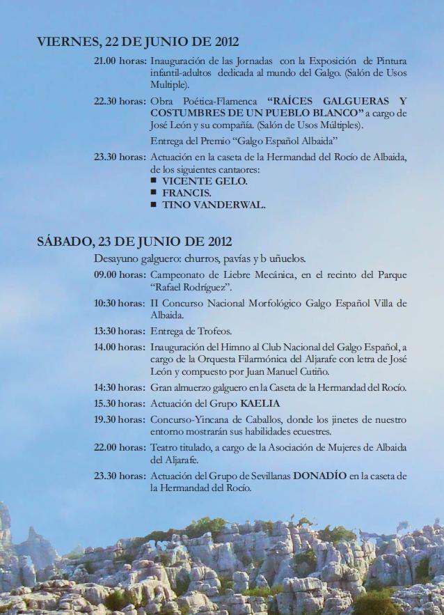 Journées culturelles autour du galgo 22/23 Juin Albaida (spain) Page210