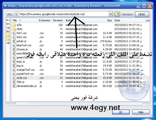 شرح رفع اكواد ال css وال java script على جوجل كود بالصور Untit229