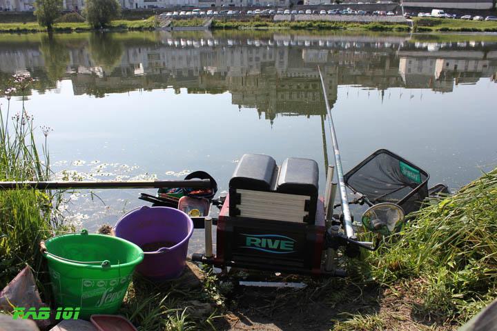 Matinée pêche au coup en Loire 3210