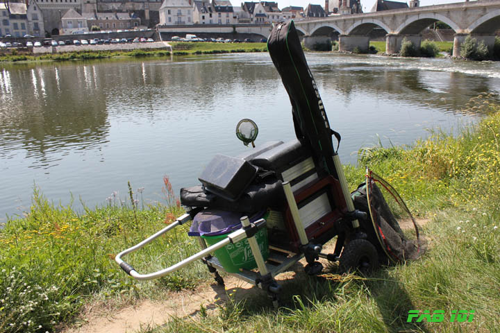 Matinée pêche au coup en Loire 8510