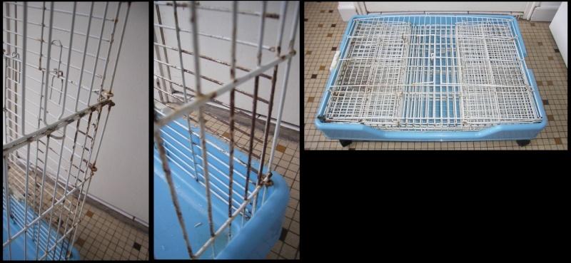 [59] 1 cage pliable et 1 volière Cage110