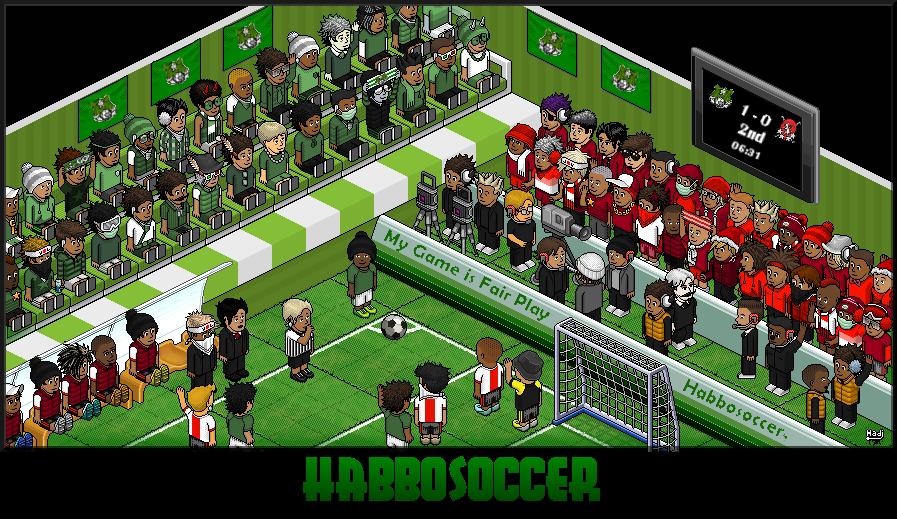 Bienvenue au HabboSoccer !