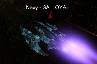 Commander OE-254 MkIX Loyal in action