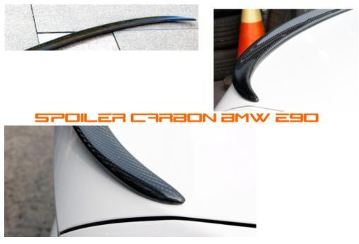 Spoiler arrière carbone pour e90 2005-2009 Spoile10