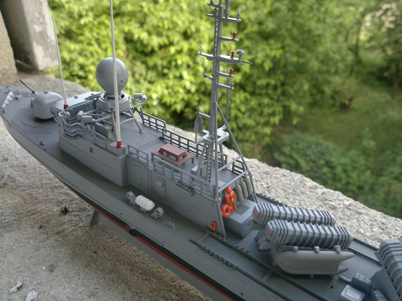 Fast Attack Boat GEPARD-KLASSE (143A) au 1/144 Revell - Page 2 03062010