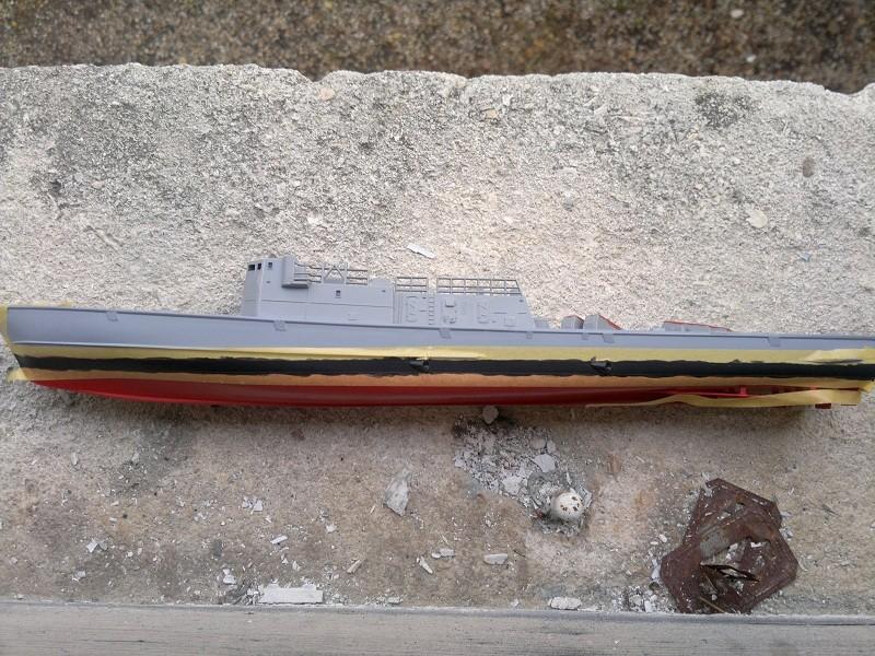 Fast Attack Boat GEPARD-KLASSE (143A) au 1/144 Revell 04092010