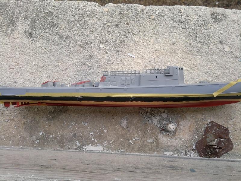Fast Attack Boat GEPARD-KLASSE (143A) au 1/144 Revell 04092011