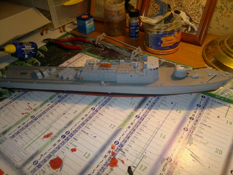 Fast Attack Boat GEPARD-KLASSE (143A) au 1/144 Revell - Page 2 05022010