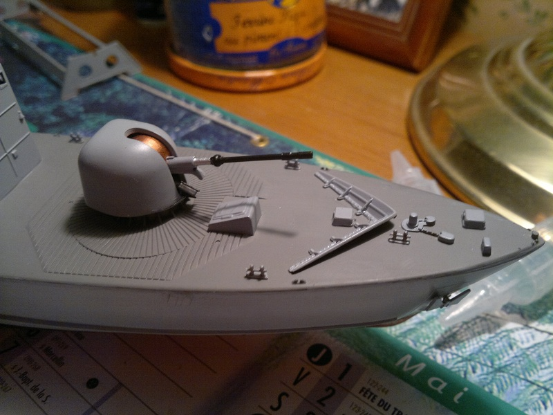 Fast Attack Boat GEPARD-KLASSE (143A) au 1/144 Revell 05022013