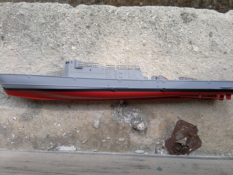 Fast Attack Boat GEPARD-KLASSE (143A) au 1/144 Revell 11092011