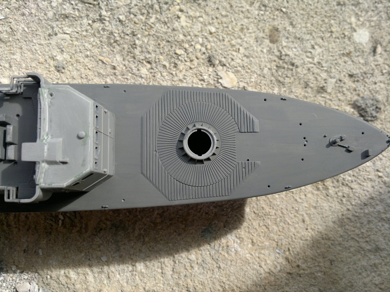 Fast Attack Boat GEPARD-KLASSE (143A) au 1/144 Revell 18092011