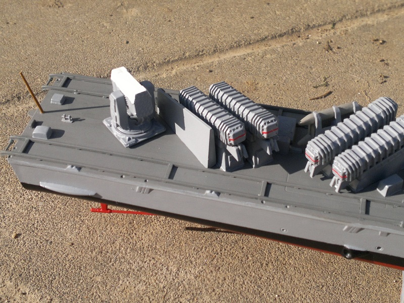 Fast Attack Boat GEPARD-KLASSE (143A) au 1/144 Revell - Page 2 25032013