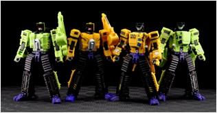 [MakeToys] Produit Tiers - Jouet Yellow Giant ou Green Giant - aka Devastator/Devastateur - Page 2 40074611
