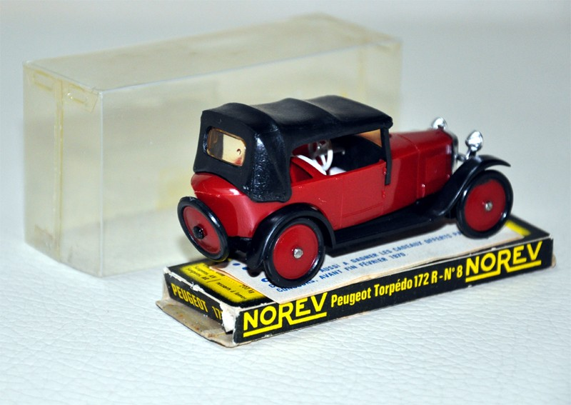 Moyen Age N° 008 - Peugeot Torpédo 172R Peugeo13