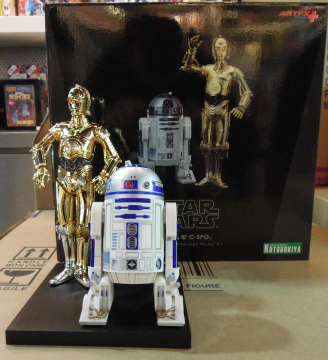 Kotobukiya - C-3PO & R2-D2 Two Pack - ARTFX+  38944410