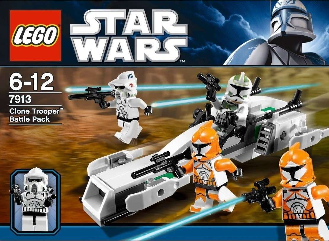 Lego Star Wars - 7913 -  Clone Trooper Battle Pack 71vm3-11