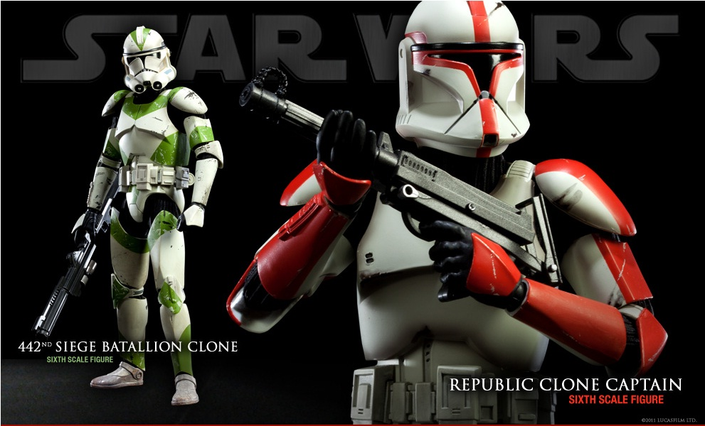 Sideshow - Republic Clone Captain - 12 inch Figure  Clone10