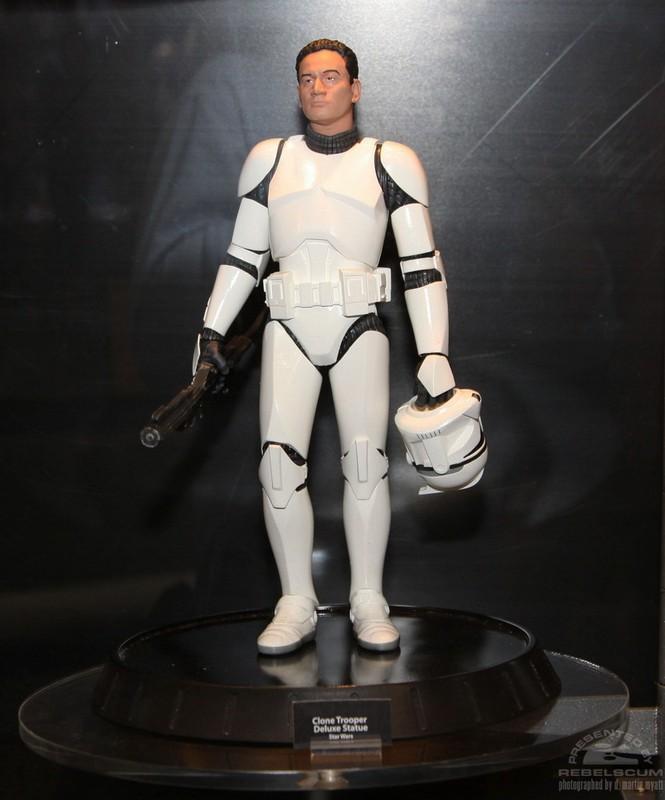 GG - White Clone Trooper AOTC Deluxe Statue Clonet10