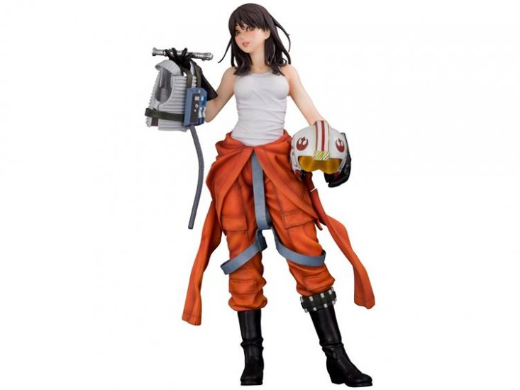 Kotobukiya -  Jaina Solo X-Wing Pilot Bishoujo Statue Jaina210