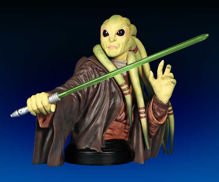 Gentle Giant - Kit Fisto mini bust  Kitfis10